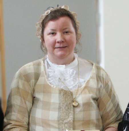Victorian character Cecilia Mansford