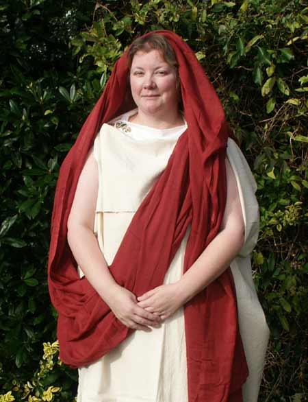Roman Britain character Flavia Severina